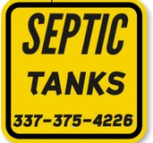 Septic tank installation in DeRidder, Louisiana