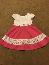 Pink and White Dress 3T in Aurora, Illinois