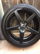 "KMC ""District""  5lug rims w 18 tires in Temecula, California"