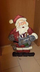 Iron Santa Claus in Ramstein, Germany