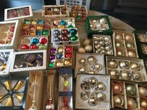 beautiful vintage and antique christmas balls in Ramstein, Germany