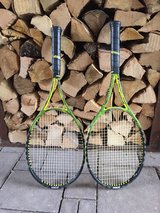 Two Prince tennis racquets in Heidelberg, GE