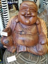 Laughing Buddha in Lakenheath, UK