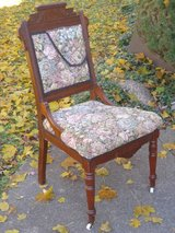 Antique Mahogany Chair in St. Charles, Illinois