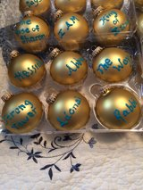 Christmas ornaments The Lords Names in Sugar Grove, Illinois