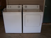 Washer and Dryer in Fort Benning, Georgia