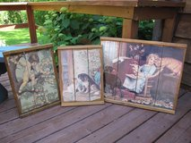 Victorian Wall Art made with Barnwood in Orland Park, Illinois