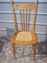 2 Cane Bottom Chairs in Alamogordo, New Mexico
