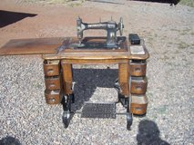 White Treadle Sewing Machine in Alamogordo, New Mexico
