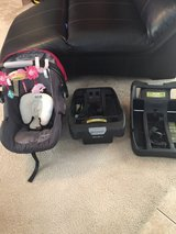 Eddie Bauer Sure Fit Infant Car Seat W/2 Bases in Beaufort, South Carolina