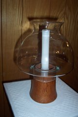 Vintage Hurricane Candle Lamp in Spring, Texas