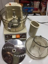 Vintage GE Electric food processor in Yorkville, Illinois