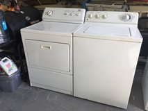 Kenmore Dryer & Ge Washer in Houston, Texas