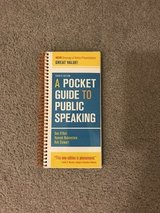 Public Speaking Handbook in Gilroy, California