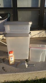 Food containers in Travis AFB, California