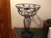 Pedestal bowl -metal in Glendale Heights, Illinois