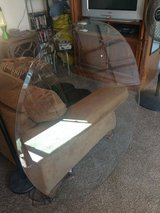 """Glass Temperd Beveled Table Top 48"""" in Travis AFB, California"""