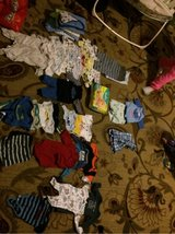 bag of baby boy clothes from 0-3 months in Travis AFB, California