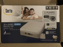 Serta Raised Air Mattress with Never Flat Pump in 29 Palms, California