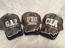 "Camo ""I LOVE JESUS"" Caps in Perry, Georgia"