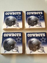 Cowboys Coasters set of 4 in Pleasant View, Tennessee