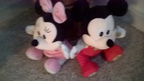 talking minnie and mickey in Lakenheath, UK
