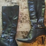 Womens black boots in Spring, Texas