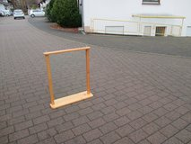 big mirror with solid wood frame in Ramstein, Germany