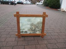 great picture with rustic wooden frame in Ramstein, Germany