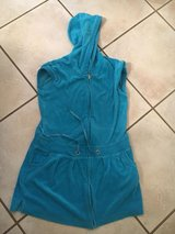 Girls Justice size 14 Teal swim cover up in Wheaton, Illinois