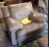 leather sofa with matching chair in Belleville, Illinois