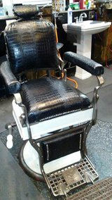 Black Koken Barber Chair in Lake Charles, Louisiana