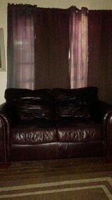 Leather loveseat/couch in Lake Charles, Louisiana