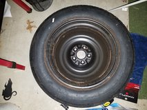 Spare tire in Plainfield, Illinois