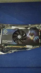 GeForce GTS 250 graphic card in Ramstein, Germany