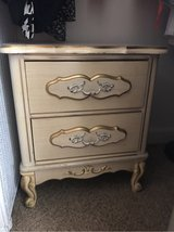 Antique nightstand in Camp Pendleton, California