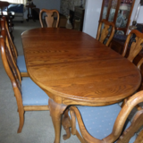 '70's OAK DINING SET WITH HUTCH in Camp Pendleton, California