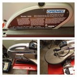 Dremel Model 1800 Scroll Saw and disc sander in Algonquin, Illinois