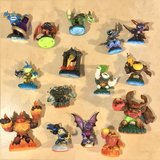 15 Skylanders and Skylanders Giants Figures and 2 Portals Wii, WiiU PS3 & PS4 in Travis AFB, California