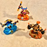 Skylanders Swapforce Figures EUC in Travis AFB, California