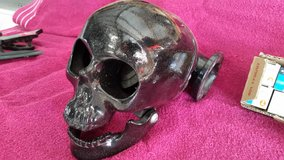 Black Enameled Skull air cleaner make your bike Pop $600 in Fort Leonard Wood, Missouri