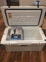 Yeti 65 qts new in box with tags in Cherry Point, North Carolina