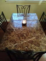 Dining room table and 4 chairs. in Kankakee, Illinois