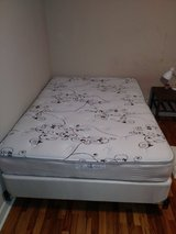 Mattress and box spring and frame in Kankakee, Illinois