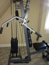 PRECOR FREE WEIGHT MACHINE WEIGHT STACK 150 LBS in Bolingbrook, Illinois