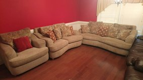 Couch With Love Seat And Chair! in Warner Robins, Georgia