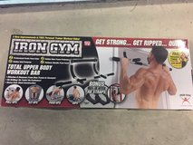 Iron Gym pull up bar in Tacoma, Washington