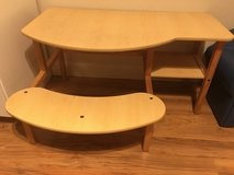 Kids desk with bench in Travis AFB, California
