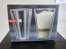 (NEW) Bodum  Canteen 2pc Double Wall Glasses Mouth Blown in Vacaville, California