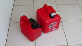 2 Gallon & 1 Gallon gas container (group 1) in Okinawa, Japan